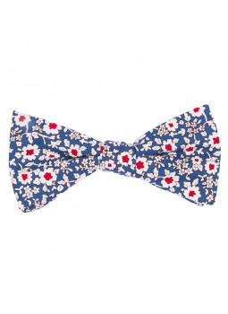 Noeud papillon Flowers en coton