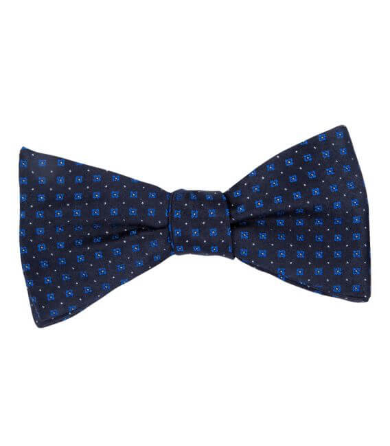 Bow tie Clovers in pure silk