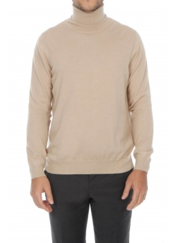 Pull homme col roulé 100% cachemire fin