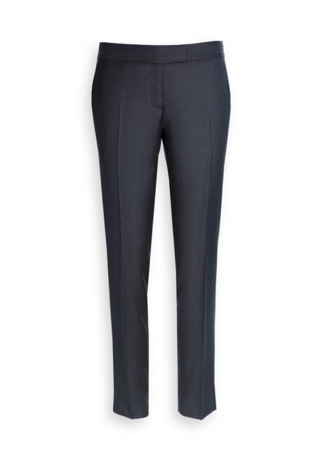 Cigarette pants women wool 110's Vitale Barberis Canonico