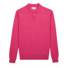 Polo homme 100% cachemire fin
