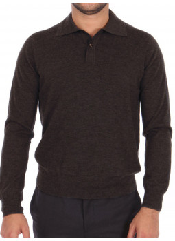 Polo shirt mens 100% cashmere end