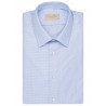 Shirt together with straight-cut cotton piqué