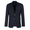 Blazer Man cinched bodices button Silver wool Reda