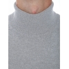 Sweater man turtleneck in cashmere and wool
