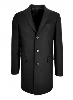 Romuald coat in wool and cashmere