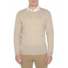Mens sweater round neck 100% Merino Honeycomb