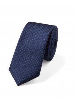 Pin Dot Pure Silk Tie