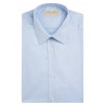 Shirt man slim fit in pure cotton